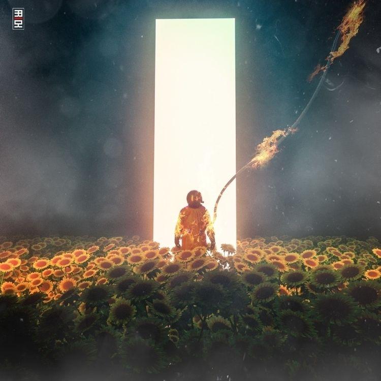 chasm Sunflowers - ello3d - frickltd | ello