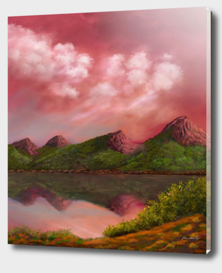 Mountain lake - almanzart | ello