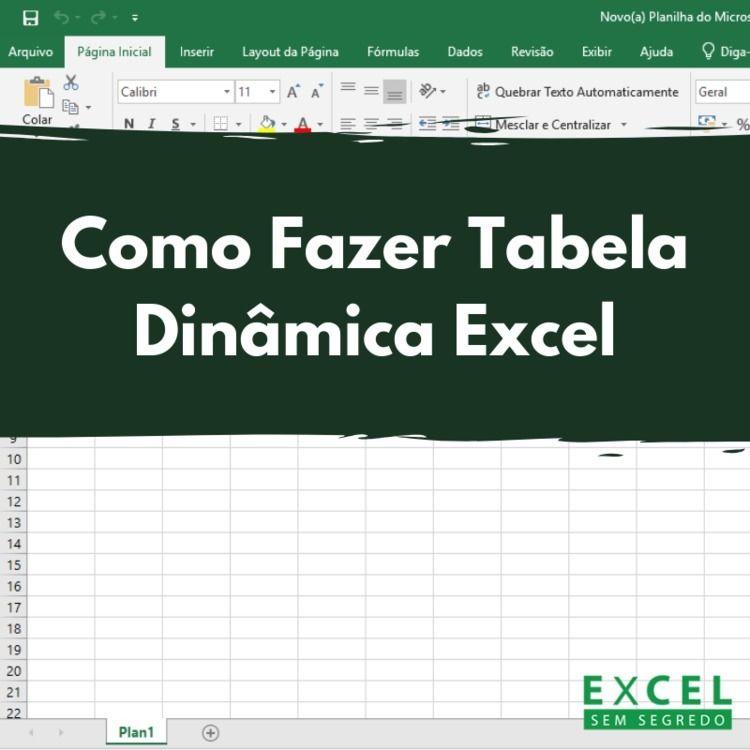 Tabela Dinâmica Excel Os passos - excelsemsegredo | ello