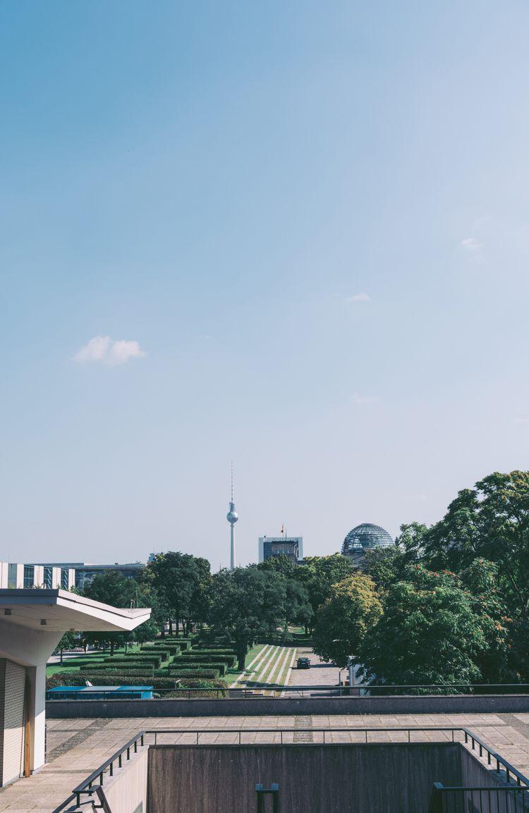 Green city . -Berlin, Germany - city, - miguelvalentin | ello