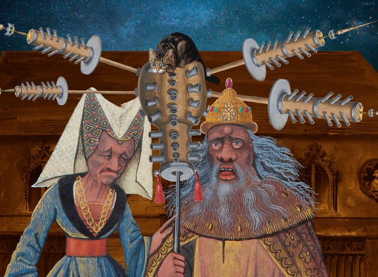 Medieval pole cat - sindhoorella   ello
