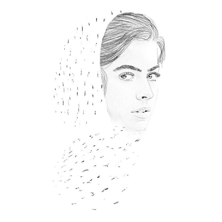 ilustracion, drawing, portrait - buprago   ello