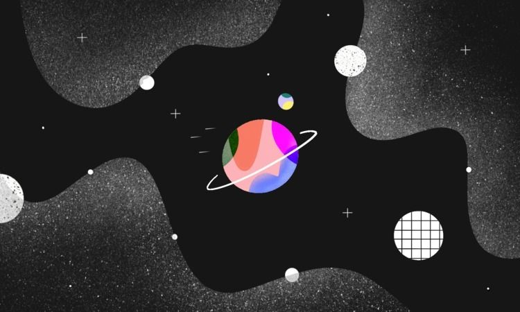 illustration, space, outerspace - operil | ello