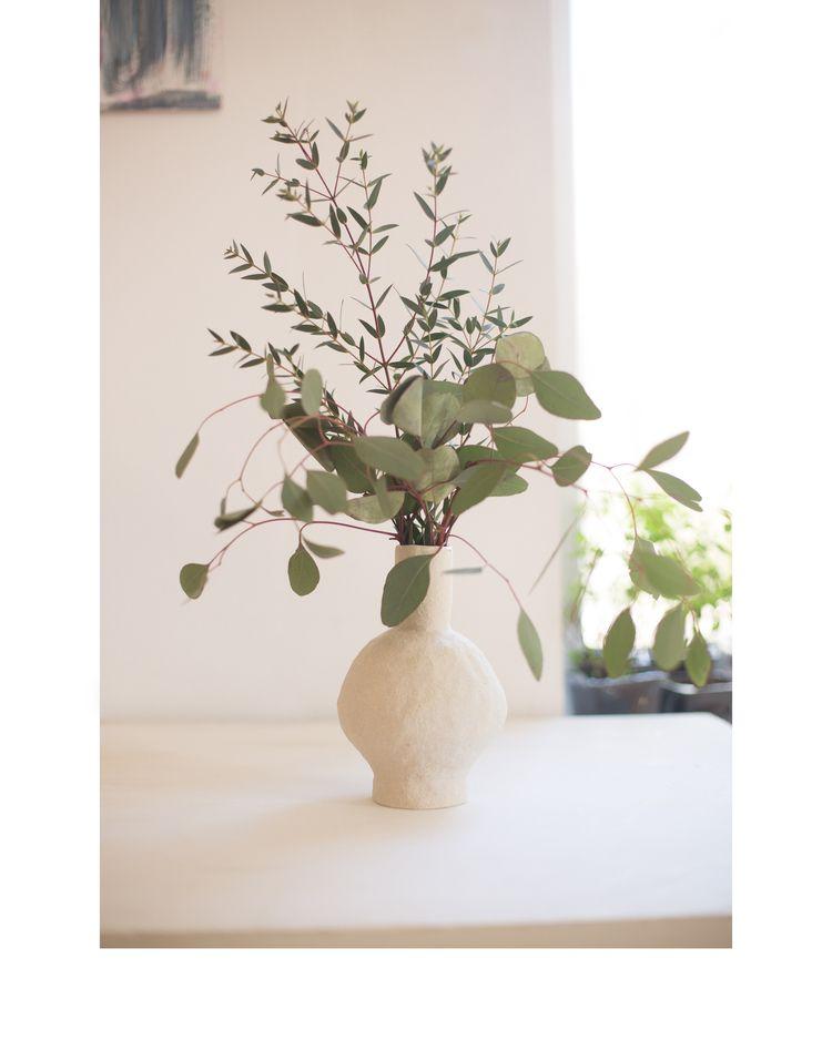 Handbuilt stoneware vase - irynagarkusha | ello