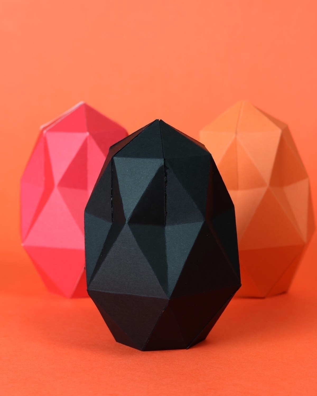 Paper Easter eggs - proyectoensamble | ello