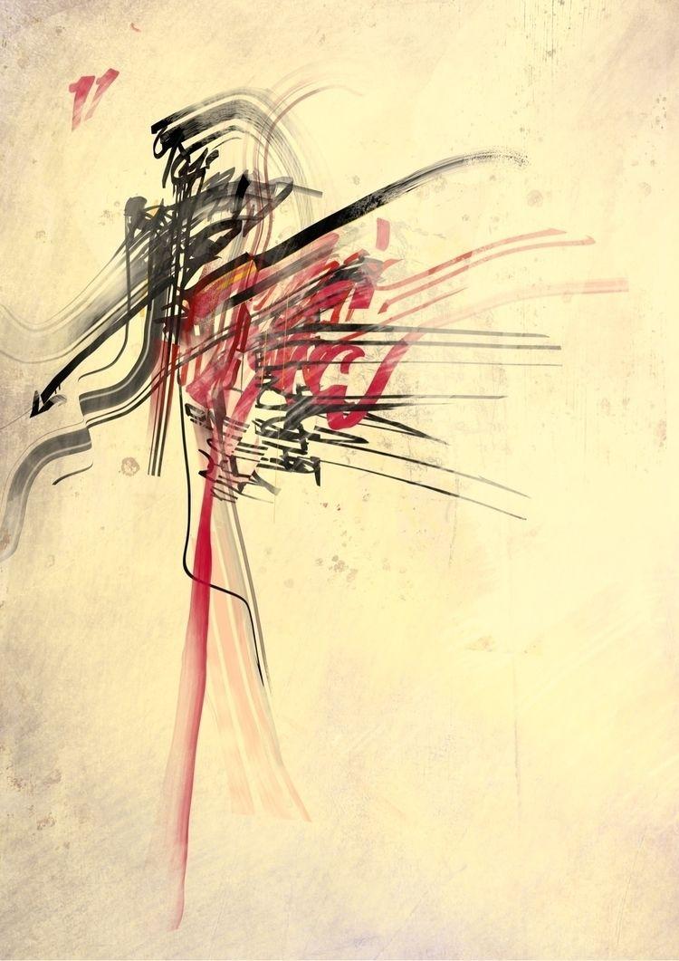 'Police Orchid,' digital painti - shanghaicorrect | ello