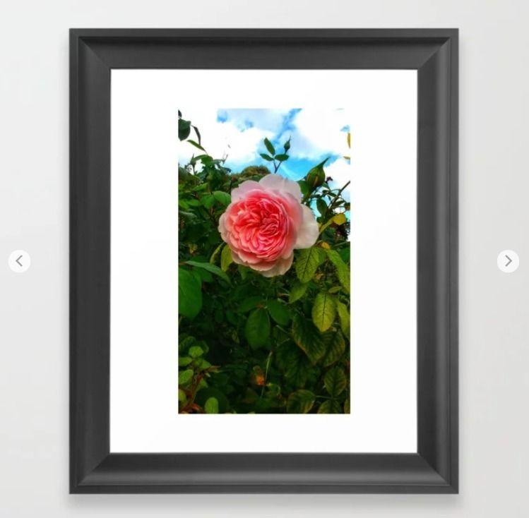 happy floral wall art? framed u - okhismakingart | ello