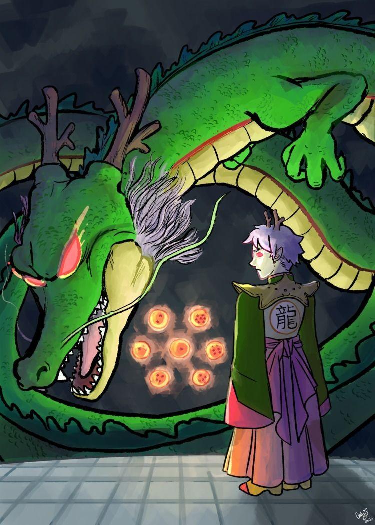 Human-form Shenlong Dragonball - coobcakes | ello