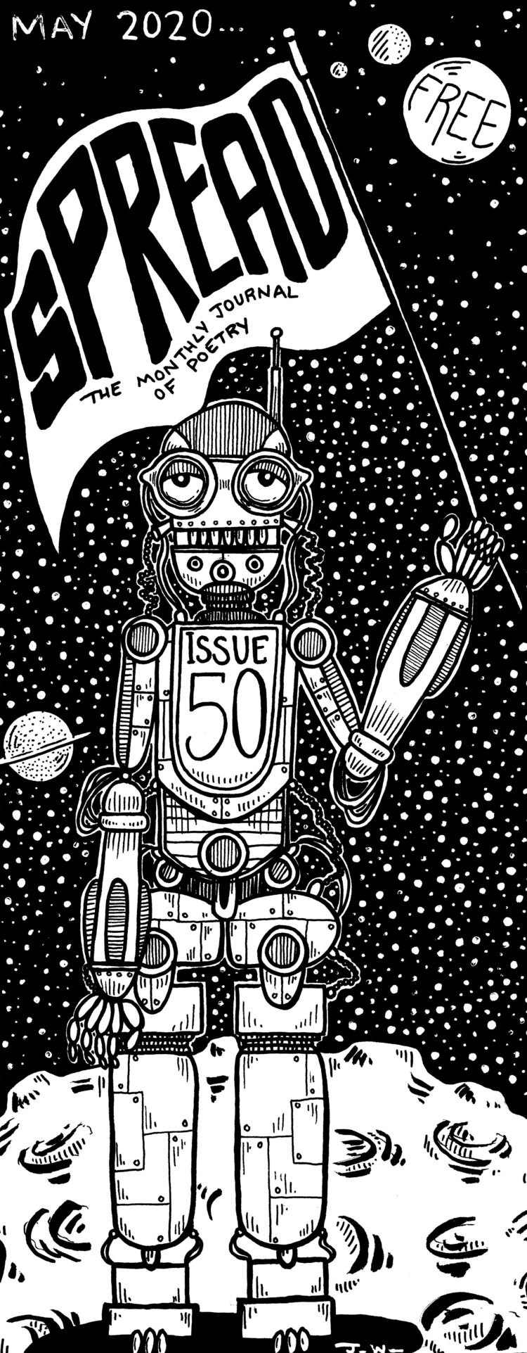 break covid comics draw cover 5 - juliawald | ello