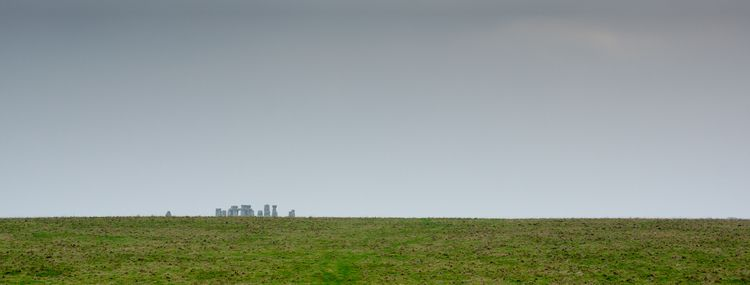Megalithic skyline - minimalist - rosma | ello