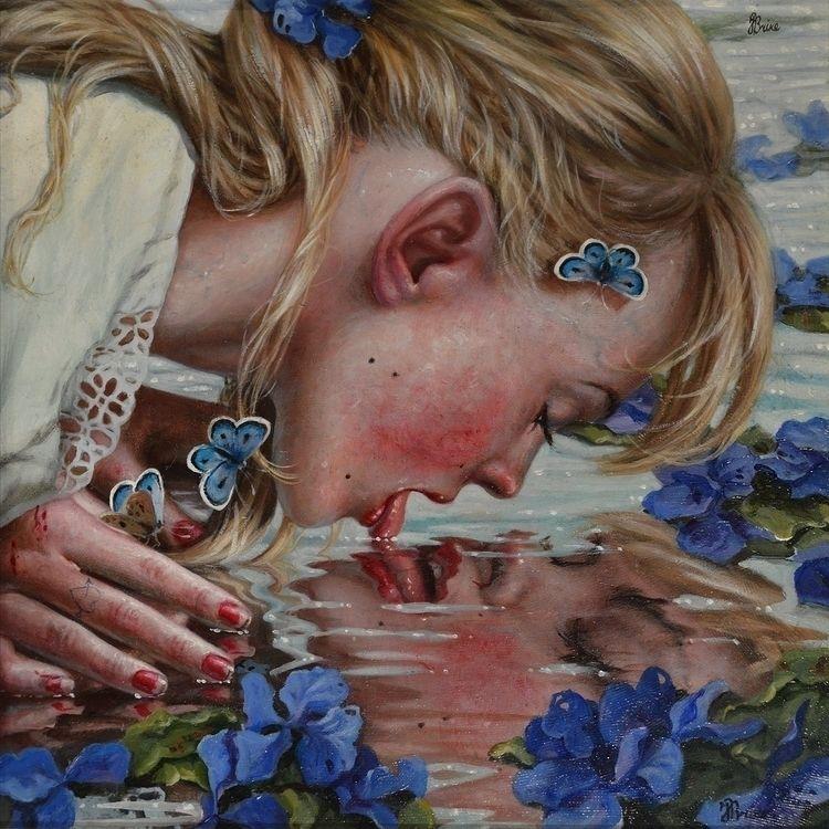 Thirst. Jana Brike. 12x12, grou - ccruzme   ello