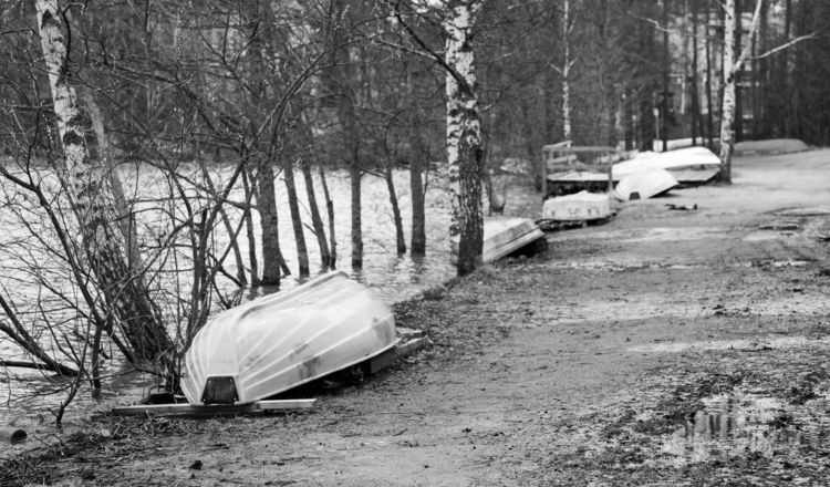 Boats shore - photography, landscape - anttitassberg | ello