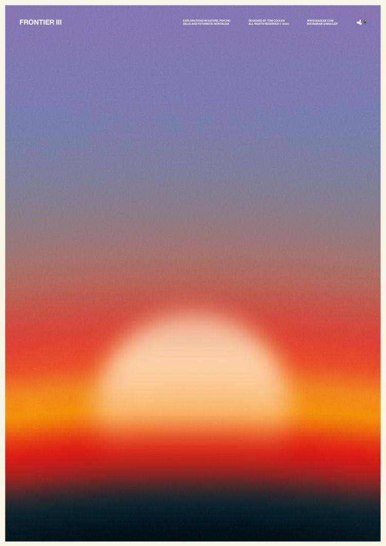 Frontier III  - poster, posterdesign - madleif | ello