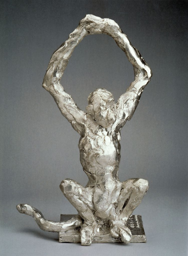 SPIDER MONKEY, SILVER 950 SOLID - barakesculptor | ello
