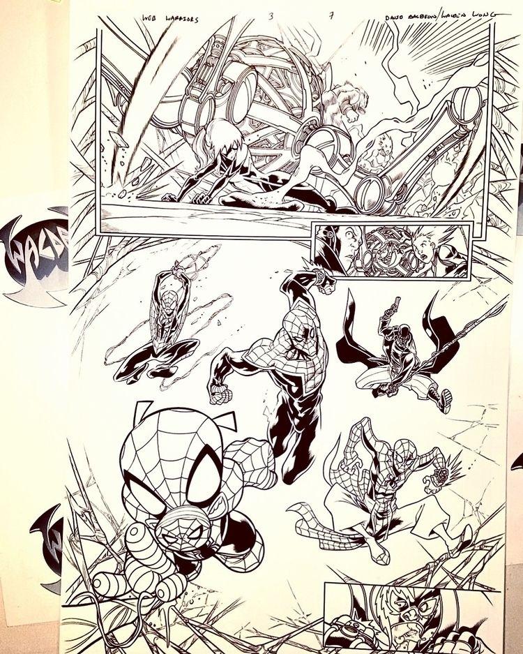SPIDERVERSE!!! Marvel Comics WE - waldenwongart   ello
