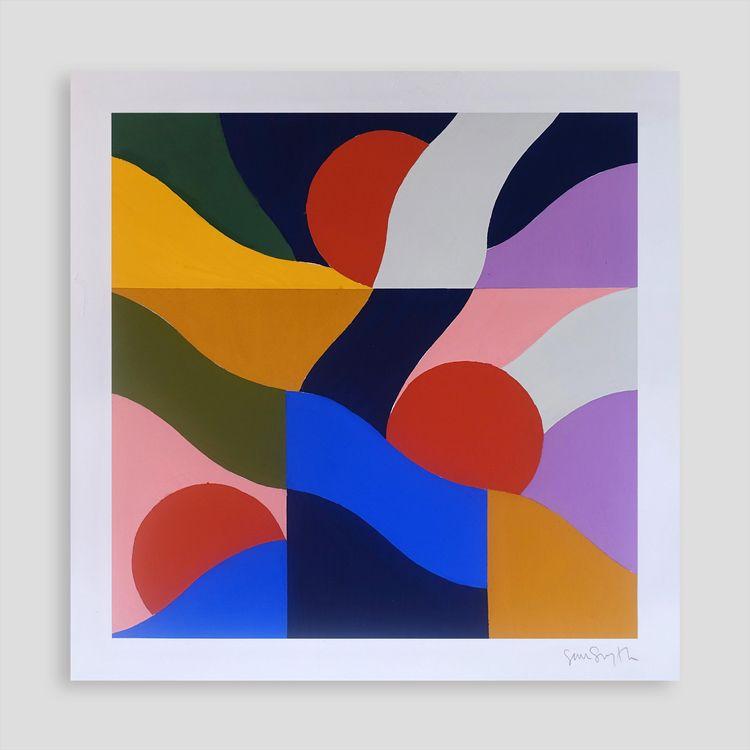 Chime 26 cm | acrylic paper sig - samsmythart | ello
