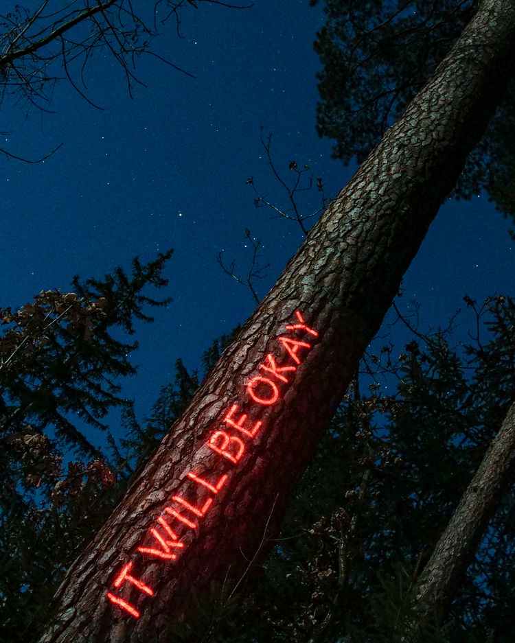 Message Forest: Projection mapp - philipp_frank | ello