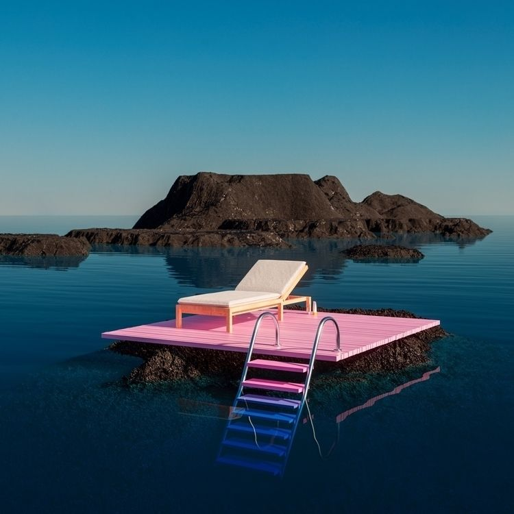 Isolate Sunlounger - artdirection - danielmedina3d | ello