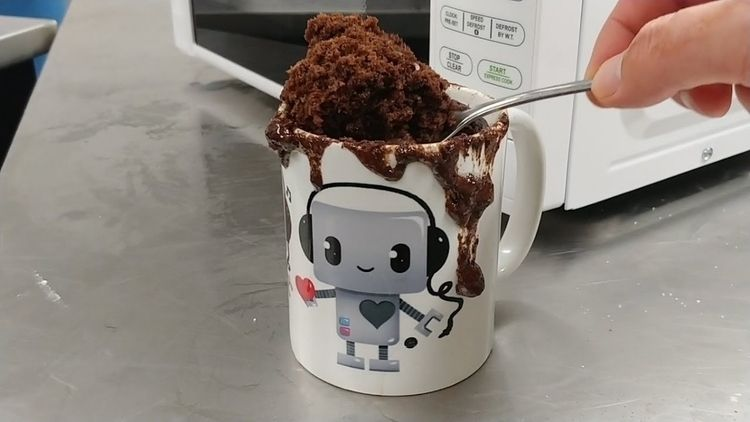 Fancy cake? eating Microwave Mu - innovationstew | ello
