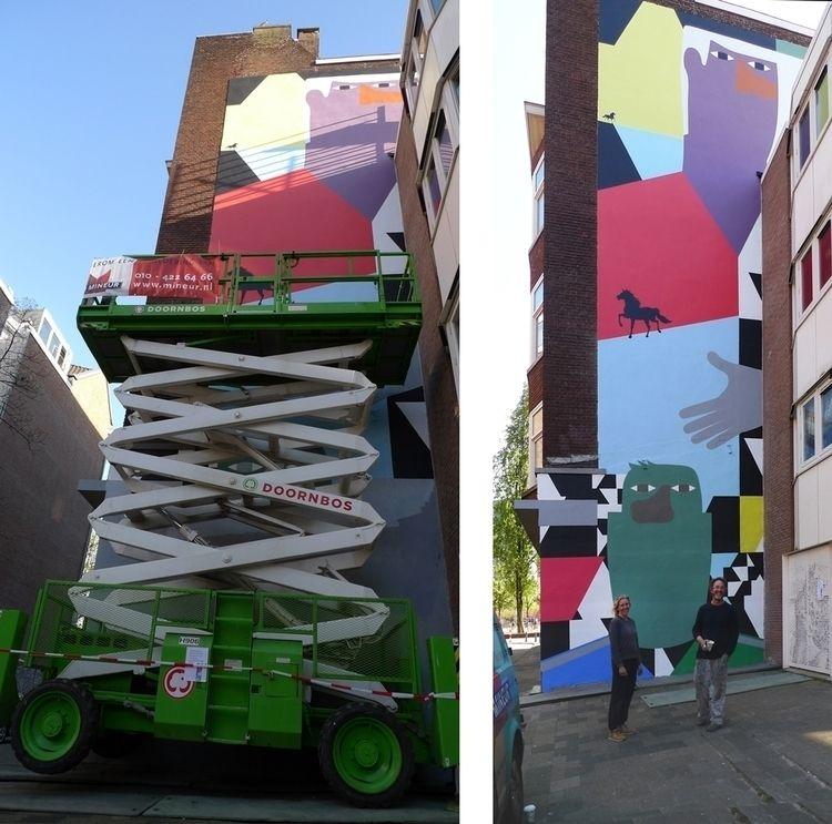 Proud announce mural de Zwarte  - anuli_croon | ello