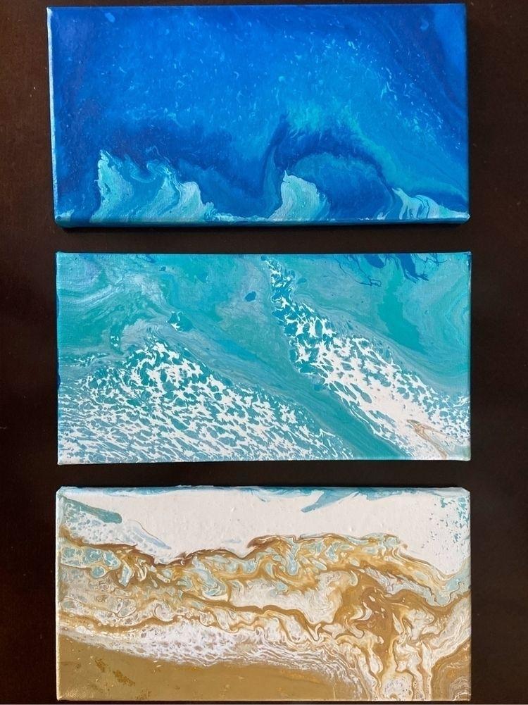 Ocean View // acrylic canvas (3 - kjett | ello