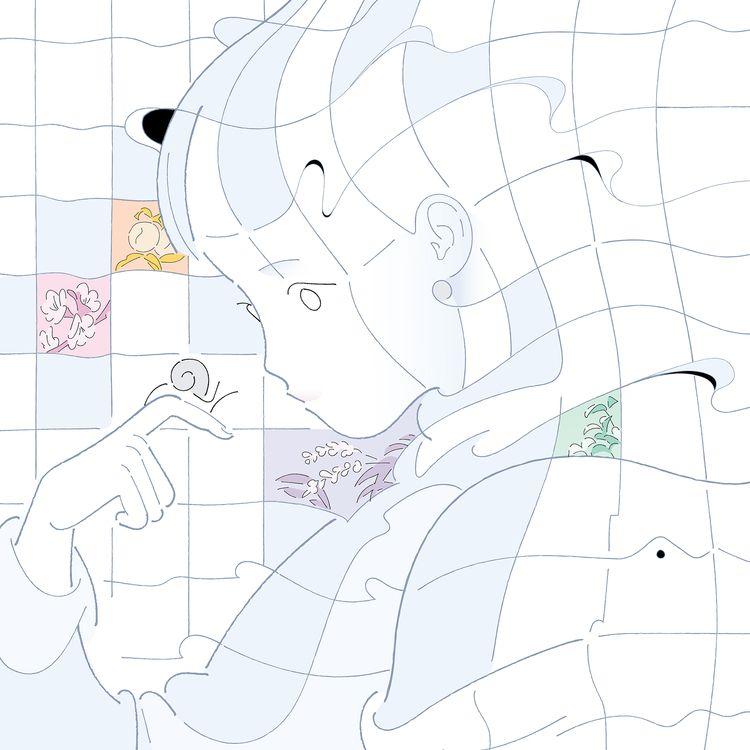 Netizen deskmat illustration 20 - genniieeee | ello