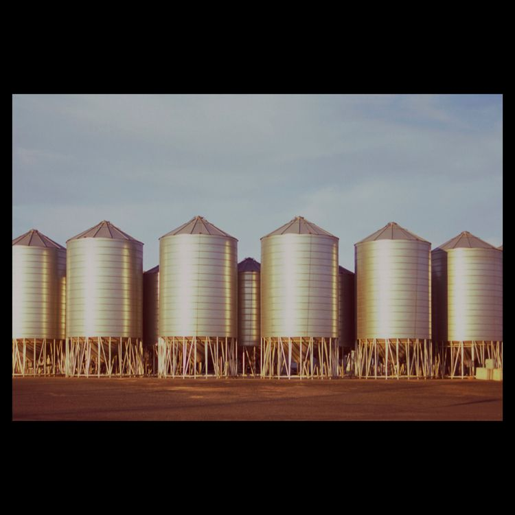 Wimmera Silos. bright afternoon - matthewschiavello | ello