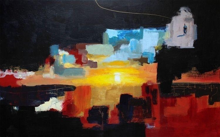 Beach - gonzalogolpe, painting, contemporaryart - gonzalogolpe | ello