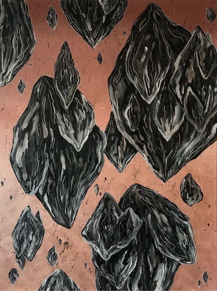 Floating Black Rocks Inspired S - ktpag | ello