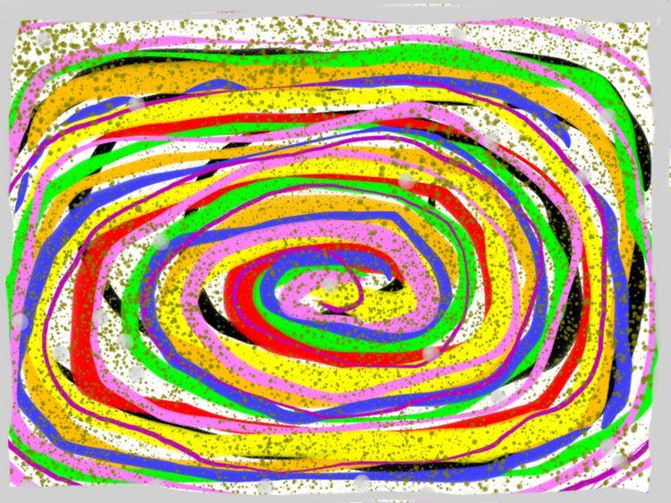 spirals - artbyray   ello