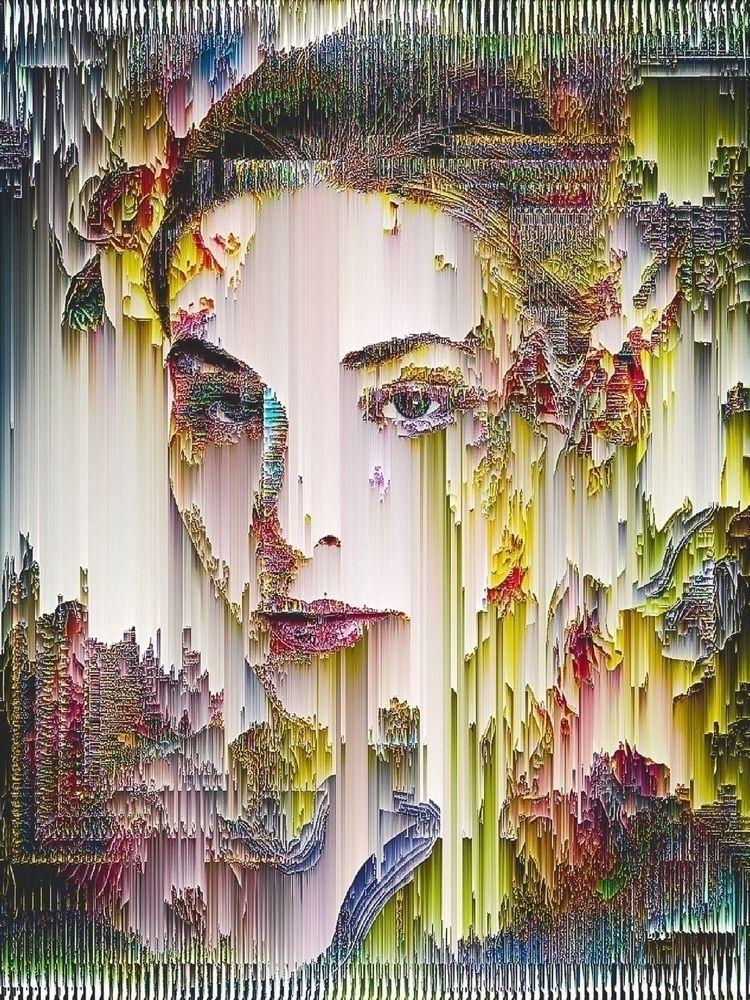 ¦ sort spring  - pixelsort, glitch - ikatch | ello