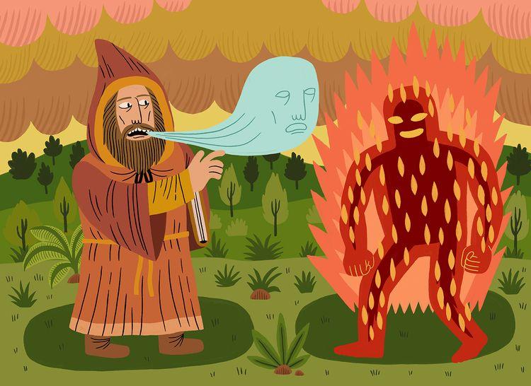 Magic - digitalpainting, illustration - jackteagle | ello