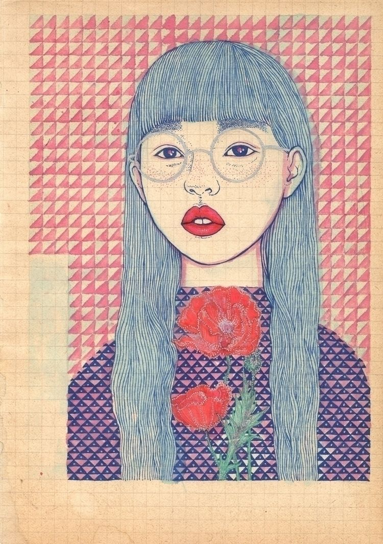 japaneseyouth_07.  - keshi, illustration - claudia_chelaru | ello