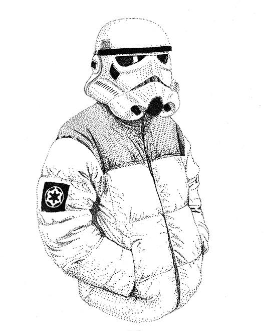 Trooper - starwars, illustration - herre84   ello
