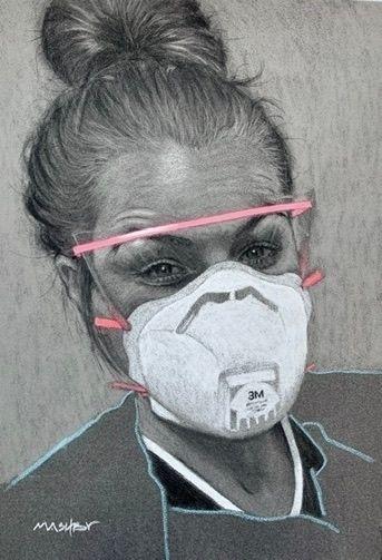 'NHS Frontline worker Laura' -  - micheleashby | ello