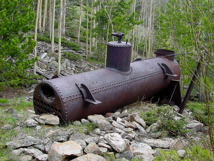 steam boiler dragged area west  - doughayes | ello