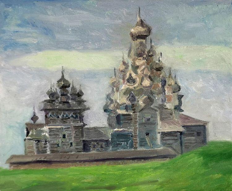 Kizhi 1, 2019, Oil Canvas, 38x4 - miika_nyyssonen   ello