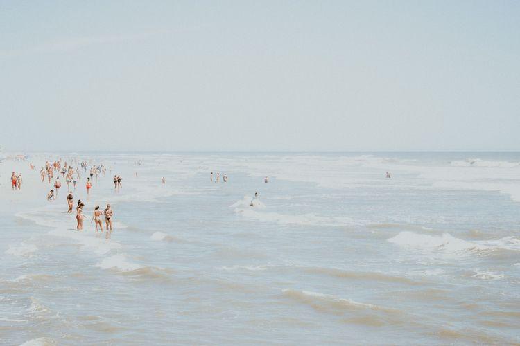 minimalist beach. Deconstruct C - bmontavon   ello