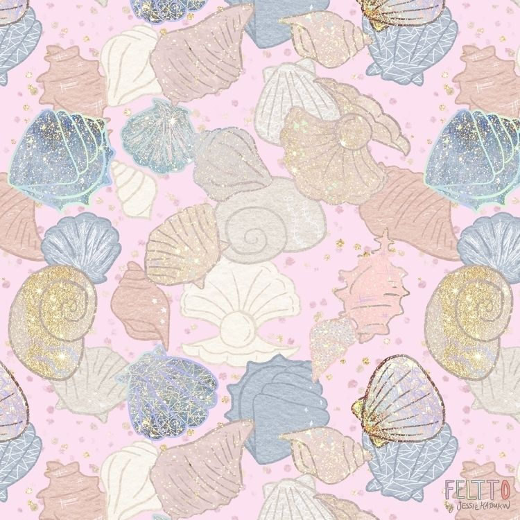 Seashell Magic texture fanatic  - feltto | ello
