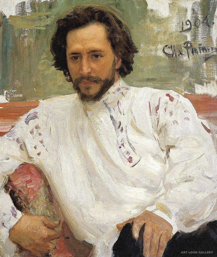 Ilya Efimovich Repin: Portrait  - arthurboehm | ello