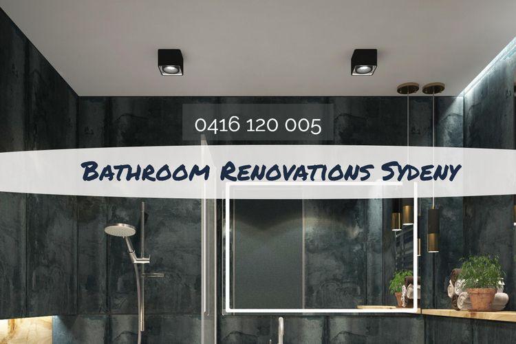 (DIY) Bathroom Renovation lot m - sydneybathrenovator | ello