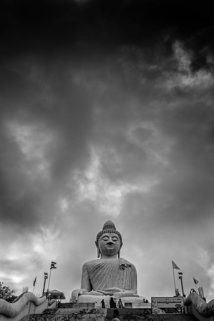 Buddha gloriously honourable to - christofkessemeier | ello