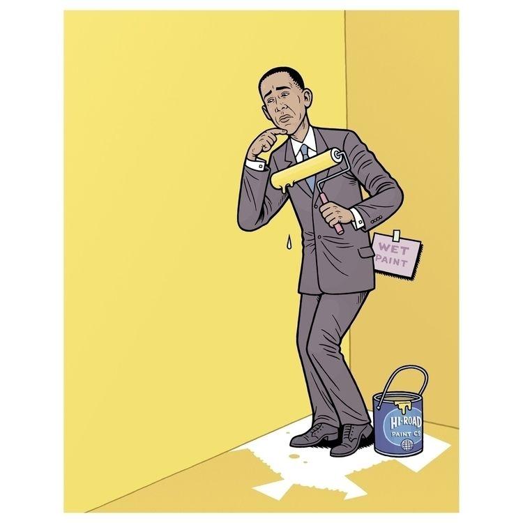 Illo CE Politics 6/21/08 Art Di - dannyhellman | ello