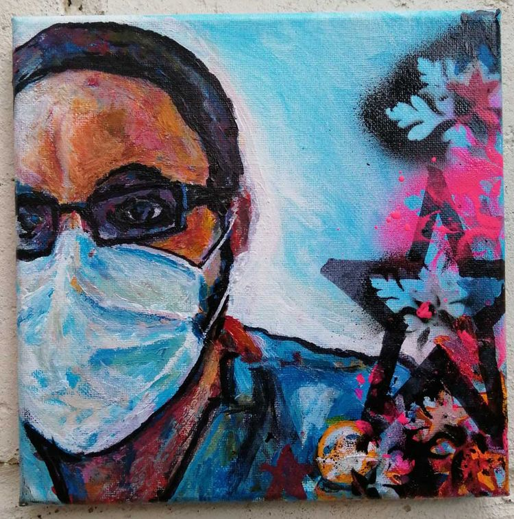 BLOG: Painting nurses whisperin - sean_worrall | ello