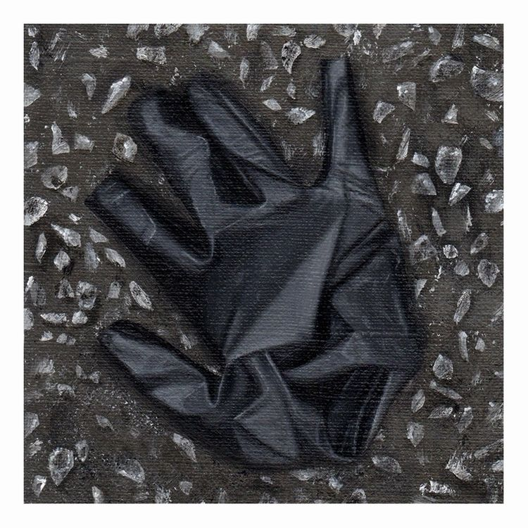Discarded surgical glove 4. Oil - carpmatthew   ello