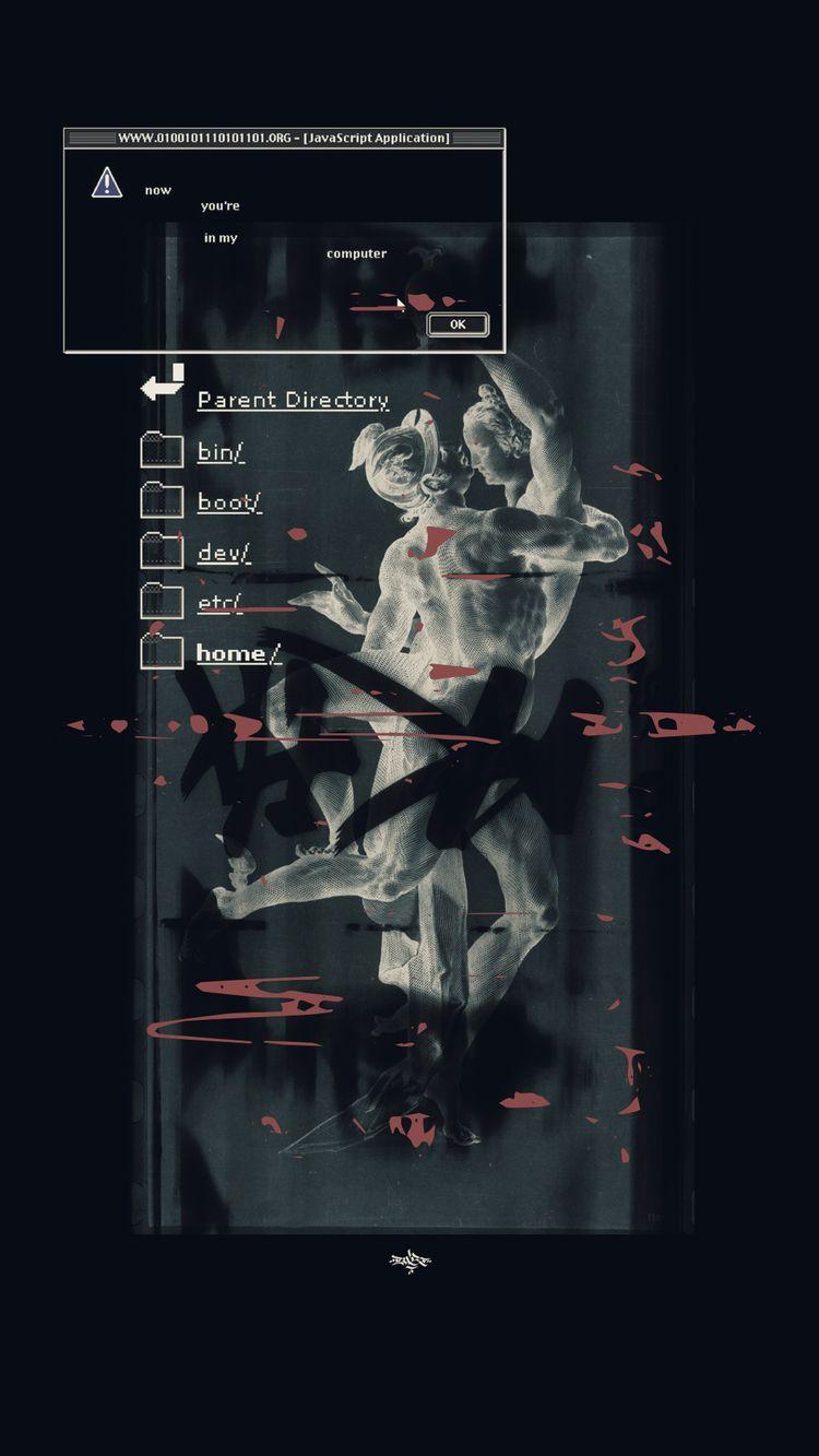 Untitled 2/3 Digital Collage - Graphic - enoz | ello