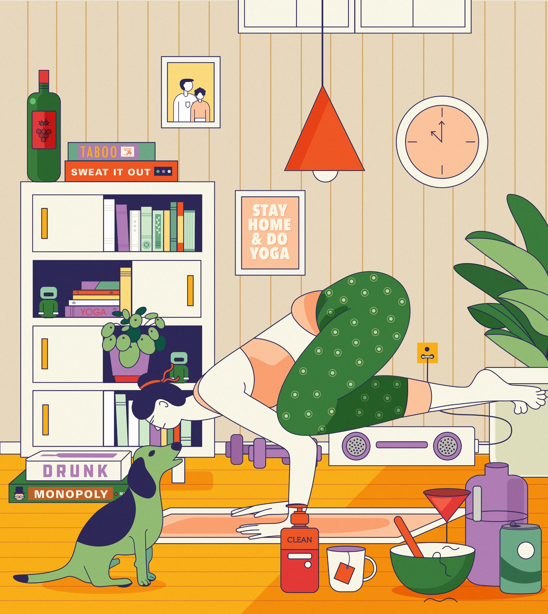 STAY HOME! Stay home cook, slee - miscellany-kanika | ello