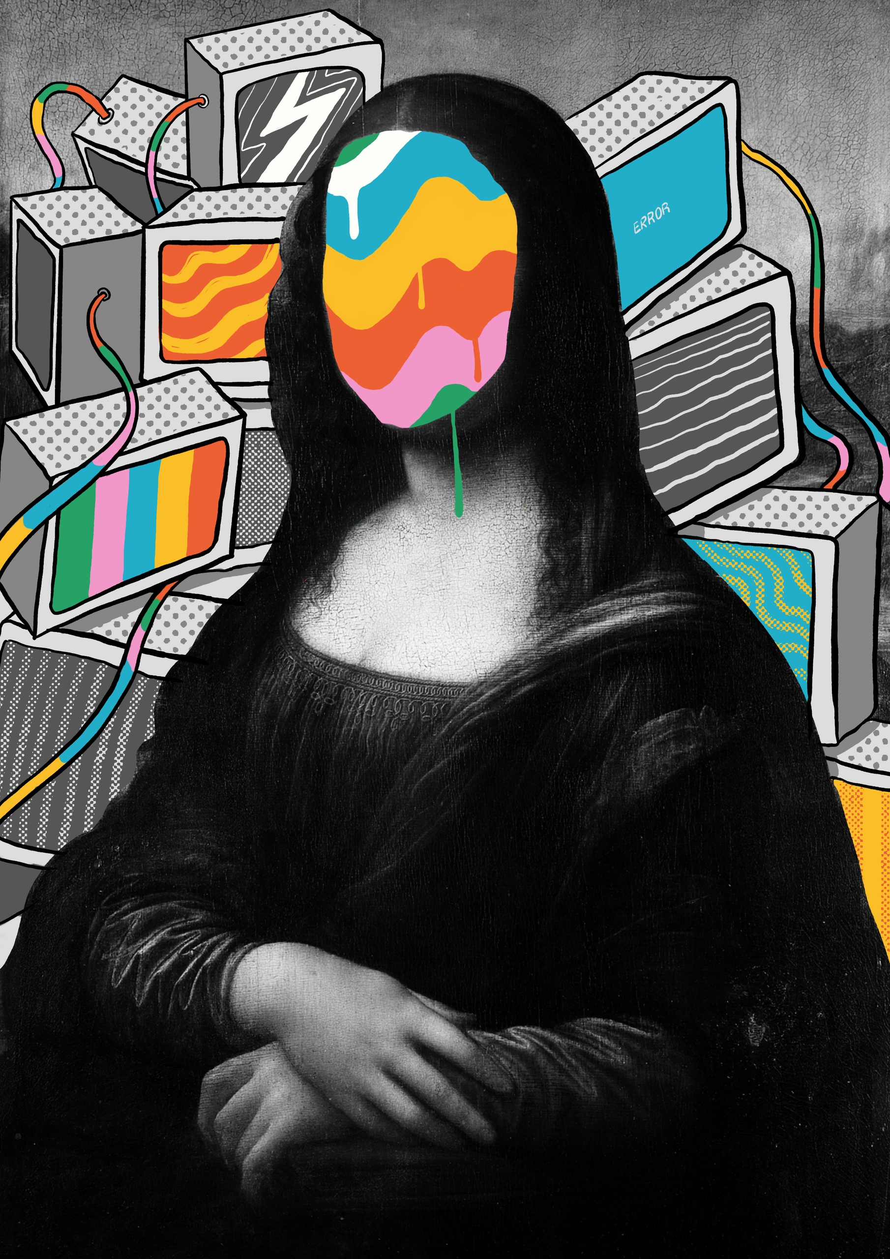Mona Lisa Meltdown - rahuljonline | ello