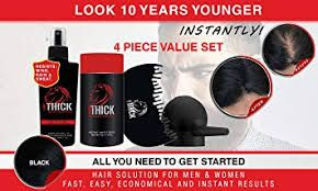 Hair Fiber hair loss concealing - lookthick | ello