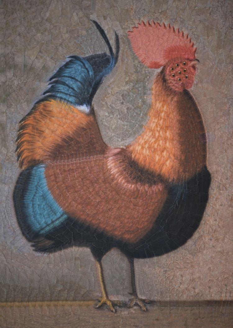 Rooster Edgar Hunt 8.2 11.6 inc - loladupre | ello